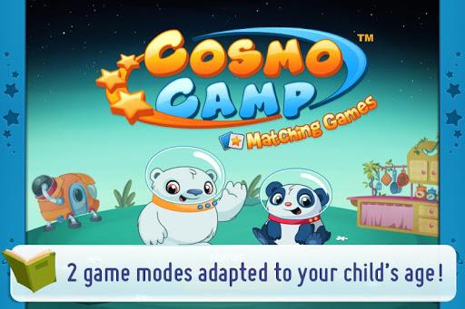 免費好玩教育app CosmoCamp: Matching Games!線上多款免費教育類App供孩童使用