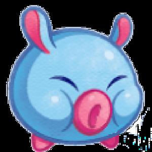 Runty Piggy: Falling Down – jump to avoid destruction above & below