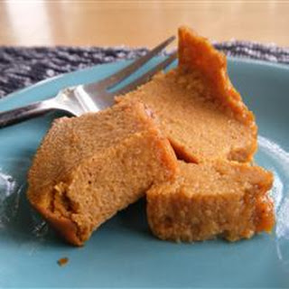 Pumpkin Pie Flan.