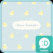 blue bubble 카카오톡 테마