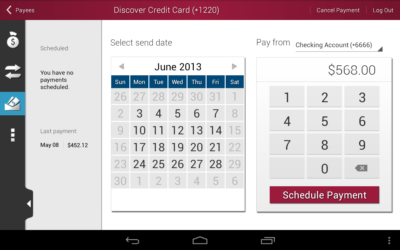 Consumers National Bank - screenshot