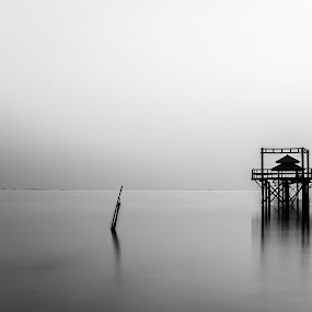 Silent Morning by M. Tuflichun Alfath - Landscapes Waterscapes ( indonesia, west java, beach, nikon, surabaya )