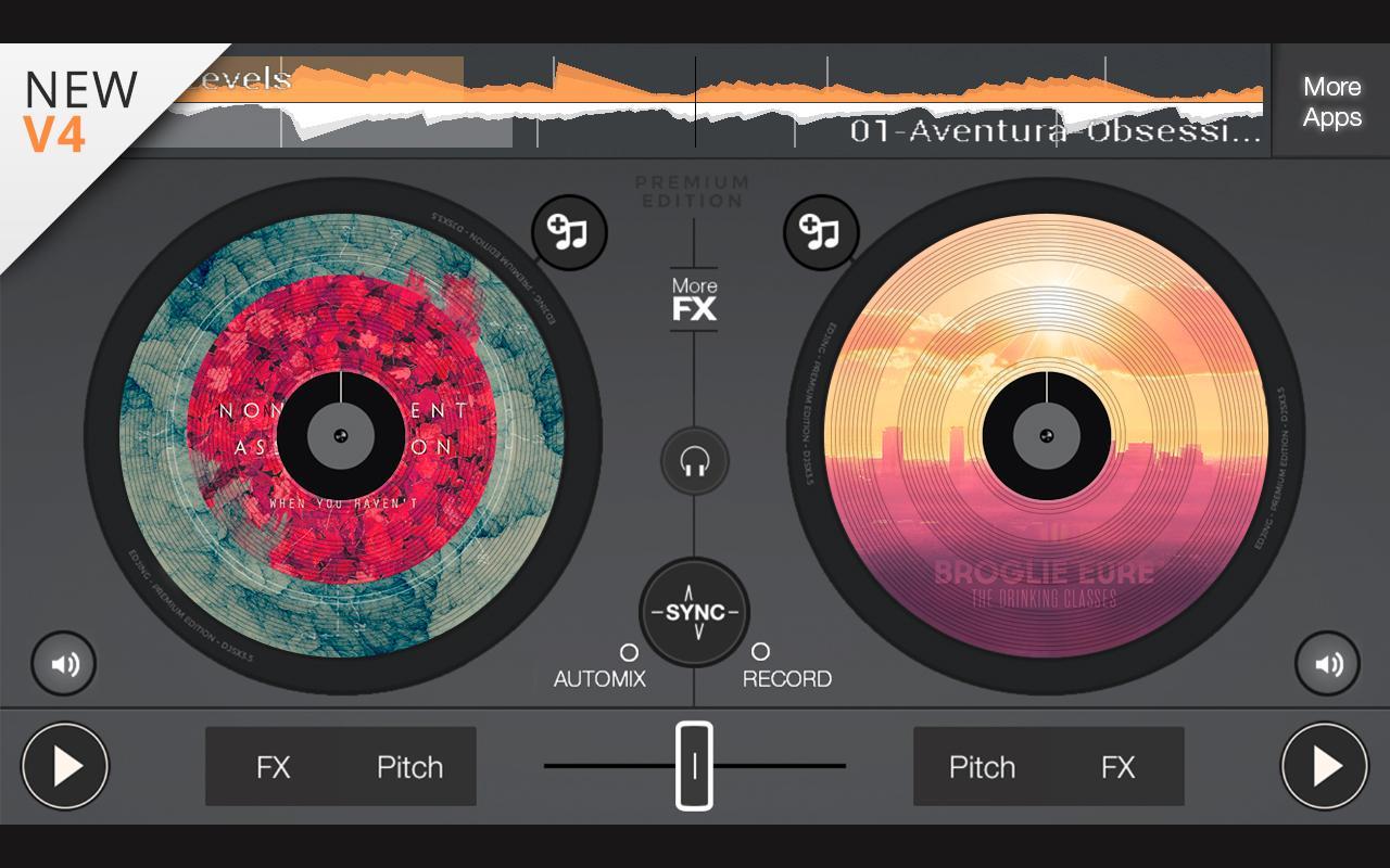 edjing Premium Dj Mix Studio v4.3.3 APK Full indir