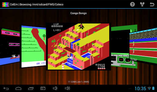 ColEm Deluxe - Coleco Emulator game for Android screenshot