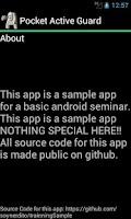 Screenshot of Nerdito Sample