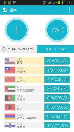 【生活實用】XE Currency:五顆星免費多功能匯率軟體,自動定位設定 ...