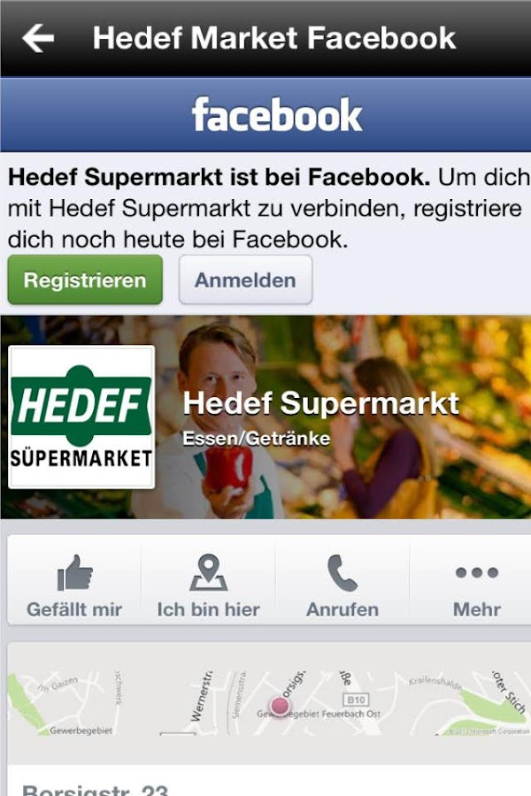 Hedef Market Feuerbach- screenshot
