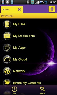 File Expert Dream Bubble Theme - screenshot thumbnail
