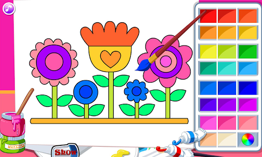 Kids Coloring Book Screenshot Thumbnail