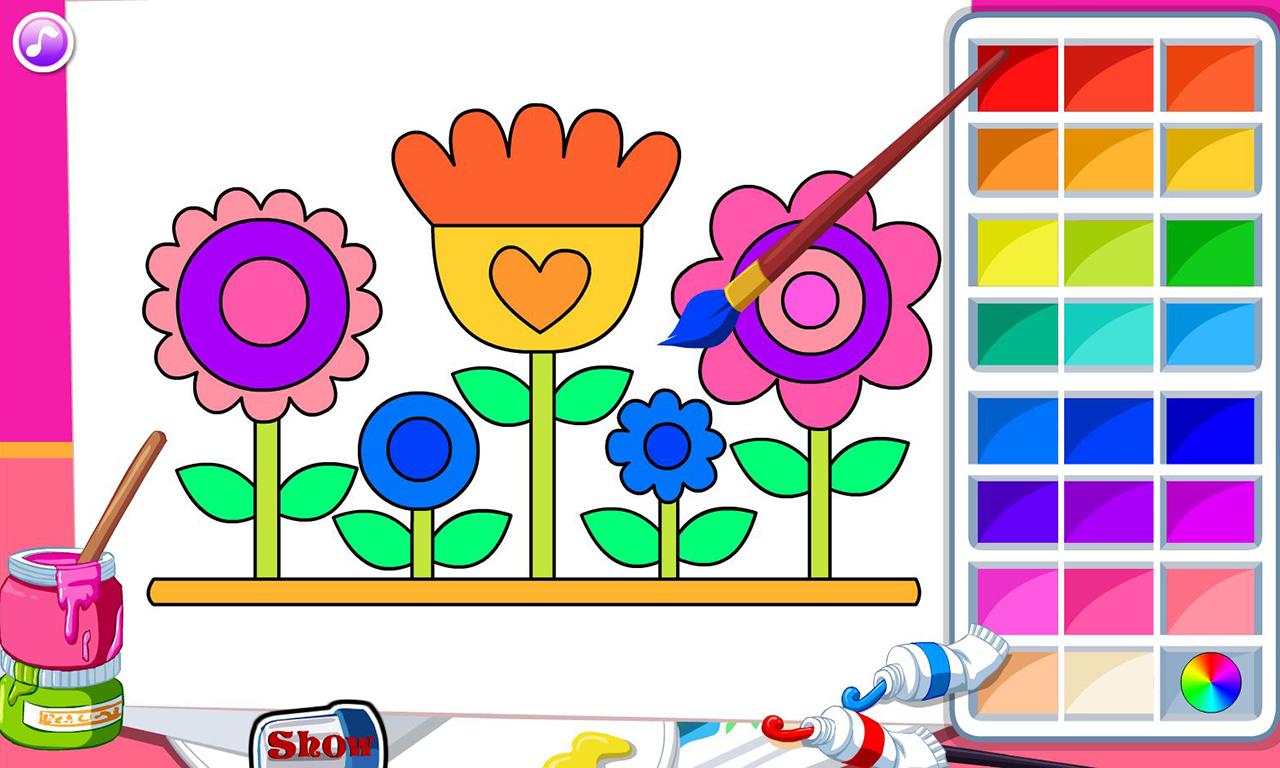 Kids coloring book - Kids Coloring Book Screenshot