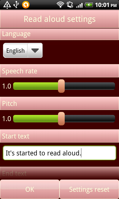 Read input aloud. FREE - screenshot