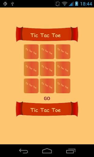 TIC TAC TOE _ O vs X