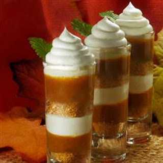 Pumpkin Parfait by Jo