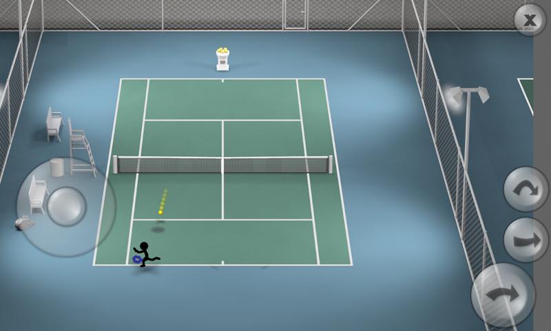 Stickman Tennis screenshot #4