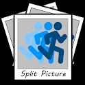 Split Picture Stopwatch