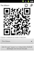Screenshot of WiFi QR Share