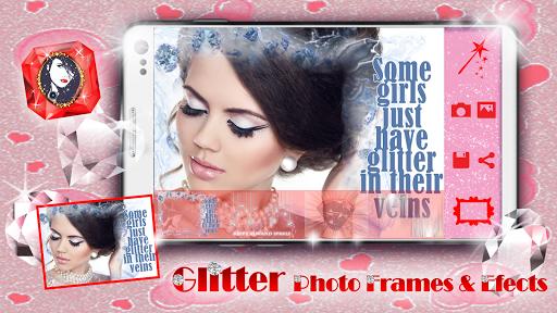Glitter Photo Frames Effects