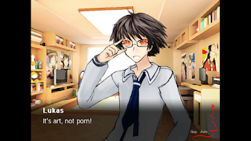 Screenshot of Sepia Tears