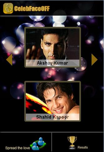 Bollywood celeb faceoff - Male