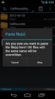 Screenshot of Pure ICS File Manager