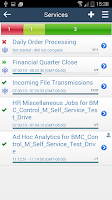 Screenshot of BMC Control-M Self Service