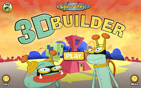 Cyberchase 3D Builder- screenshot thumbnail