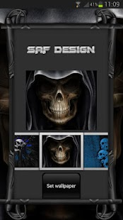 Next Launcher Skull Theme - screenshot thumbnail