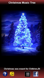 Free Christmas Music Tree - screenshot thumbnail