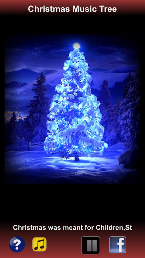 Free Christmas Music Tree - screenshot