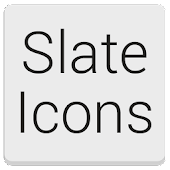 Slate Icon Pack Nova/Apex/ADW