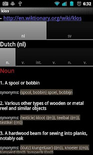 KiwiDict Offline Dictionary - screenshot thumbnail