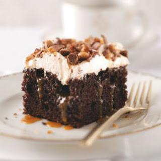 Toffee Poke Cake.