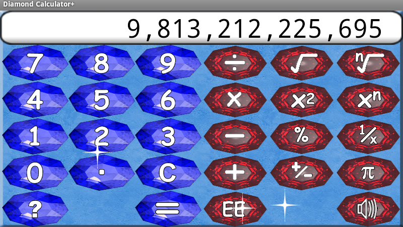 Diamond Calculator + HD - screenshot