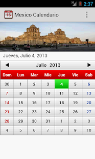 Mexico Calendario 2014 - screenshot thumbnail