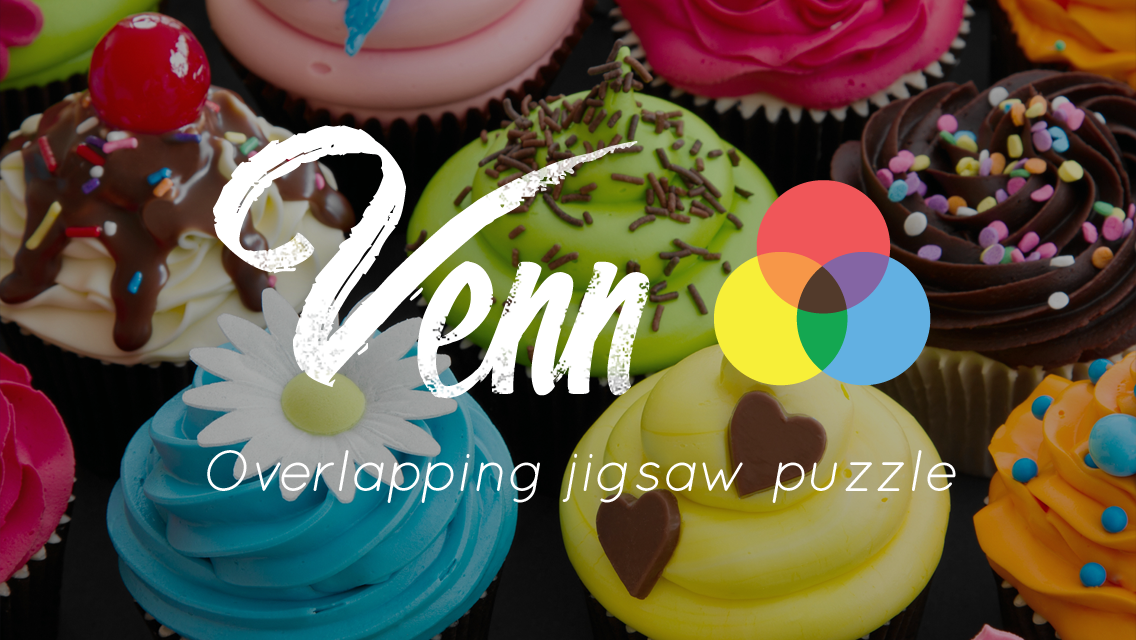 Venn Food: Circle Jigsaw- screenshot