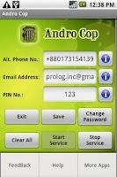 Screenshot of Andro Cop Trial