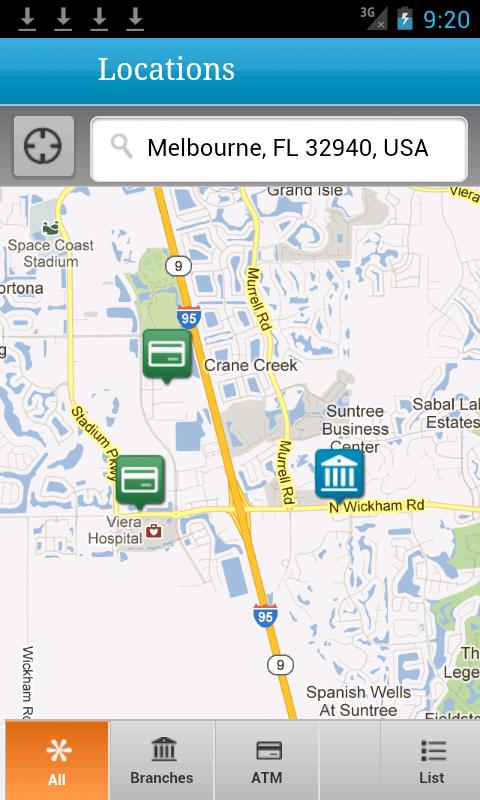 Space Coast CU Mobile - screenshot