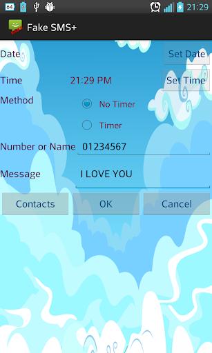 Fake SMS+ Fake Timer SMS