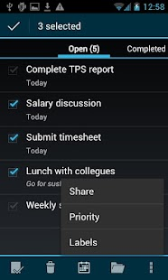 BHive Google Tasks- screenshot thumbnail
