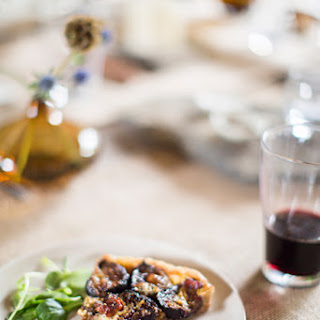 Nueske's Bacon And Seared Fresh Fig Tart