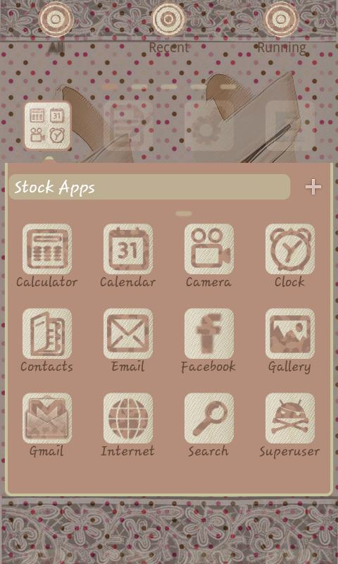 Elegant GO Launcher EX - screenshot