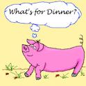 What's 4 Dinner? logo