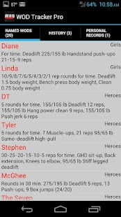 WOD Tracker Pro - screenshot thumbnail