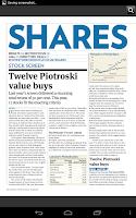 Screenshot of Investors Chronicle