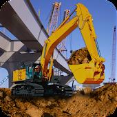 Heavy Excavator Crane Sim 3D