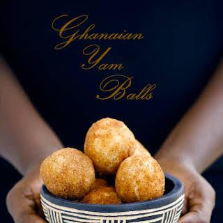 Yam Balls.