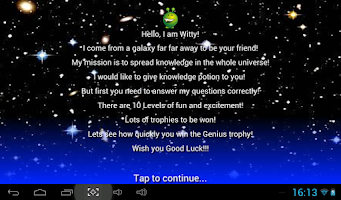 Screenshot of Kids Maths