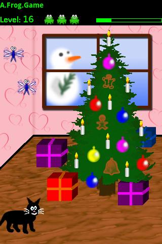 A Frog Game Christmas Edition - screenshot