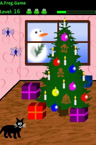 A Frog Game Christmas Edition - screenshot
