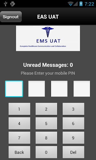 EMS UAT